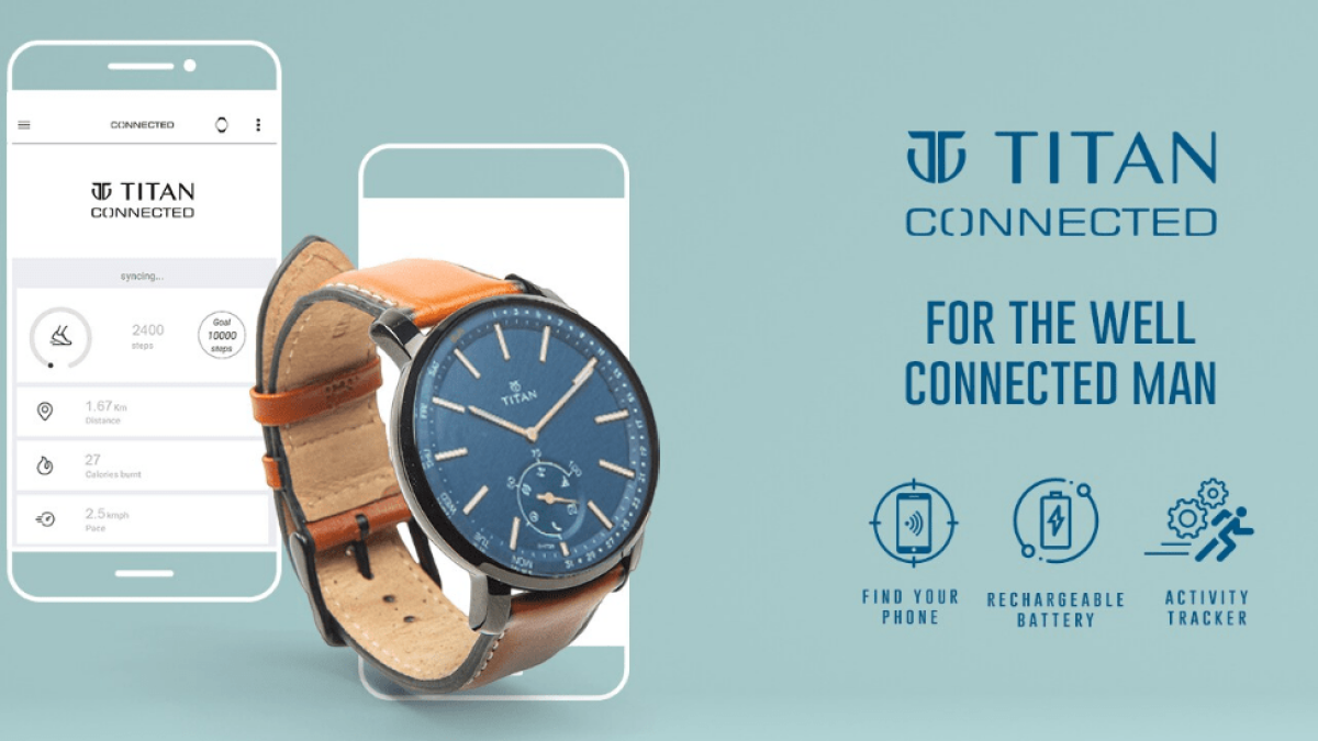 Titan launches new smart watch