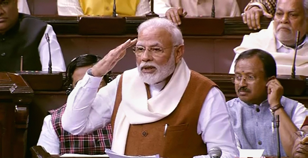 'This is what happens when your speech writers are from WhatsApp University': Twitter trolls Modi after PM quotes 'Faking News' in Parliament