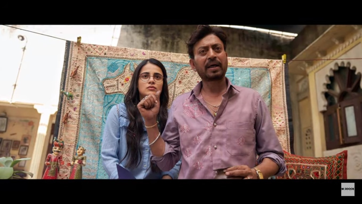 Watch:  Irrfan's shares emotional message declaring he can't promote 'Angrezi Medium'