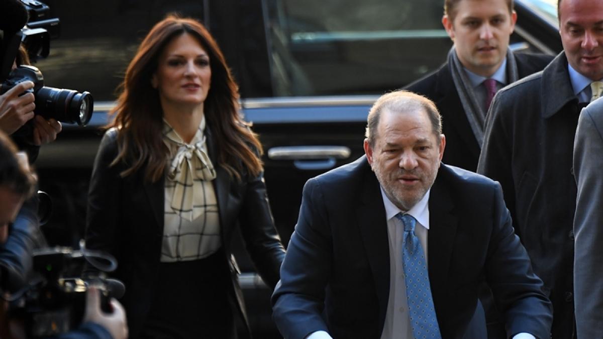 Harvey Weinstein taken to New York's infamous Rikers jail