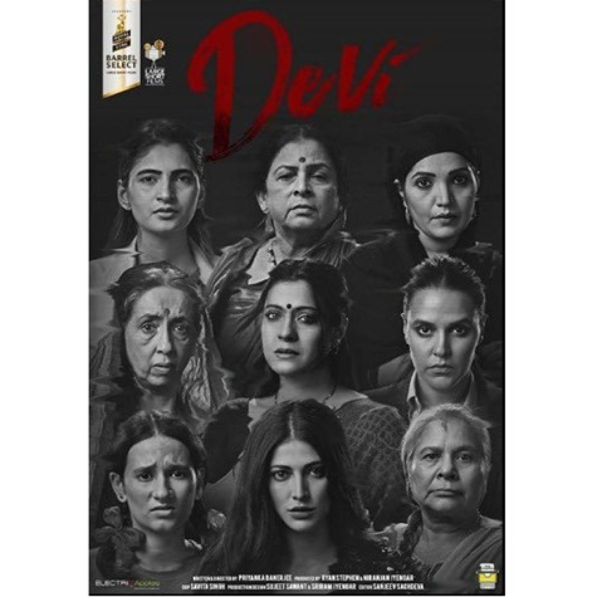 Devi: Kajol shares captivating poster featuring Shruti Hasan, Neha Dhupia and others