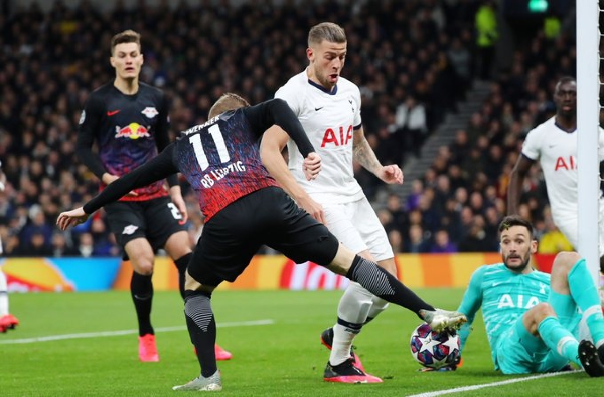 Injury-hit Tottenham go down 0-1 at home against Leipzig