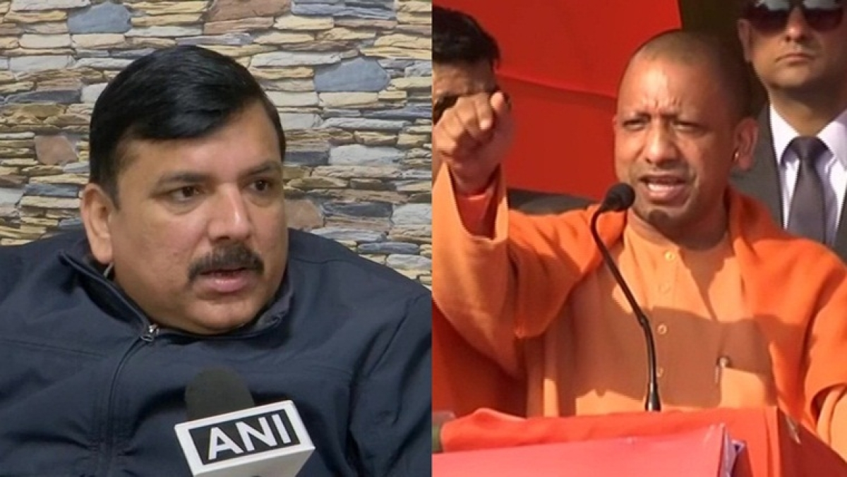 AAP's Sanjay Singh slams Yogi Adityanath over comments on Shaheen Bagh protests; demands campaign ban