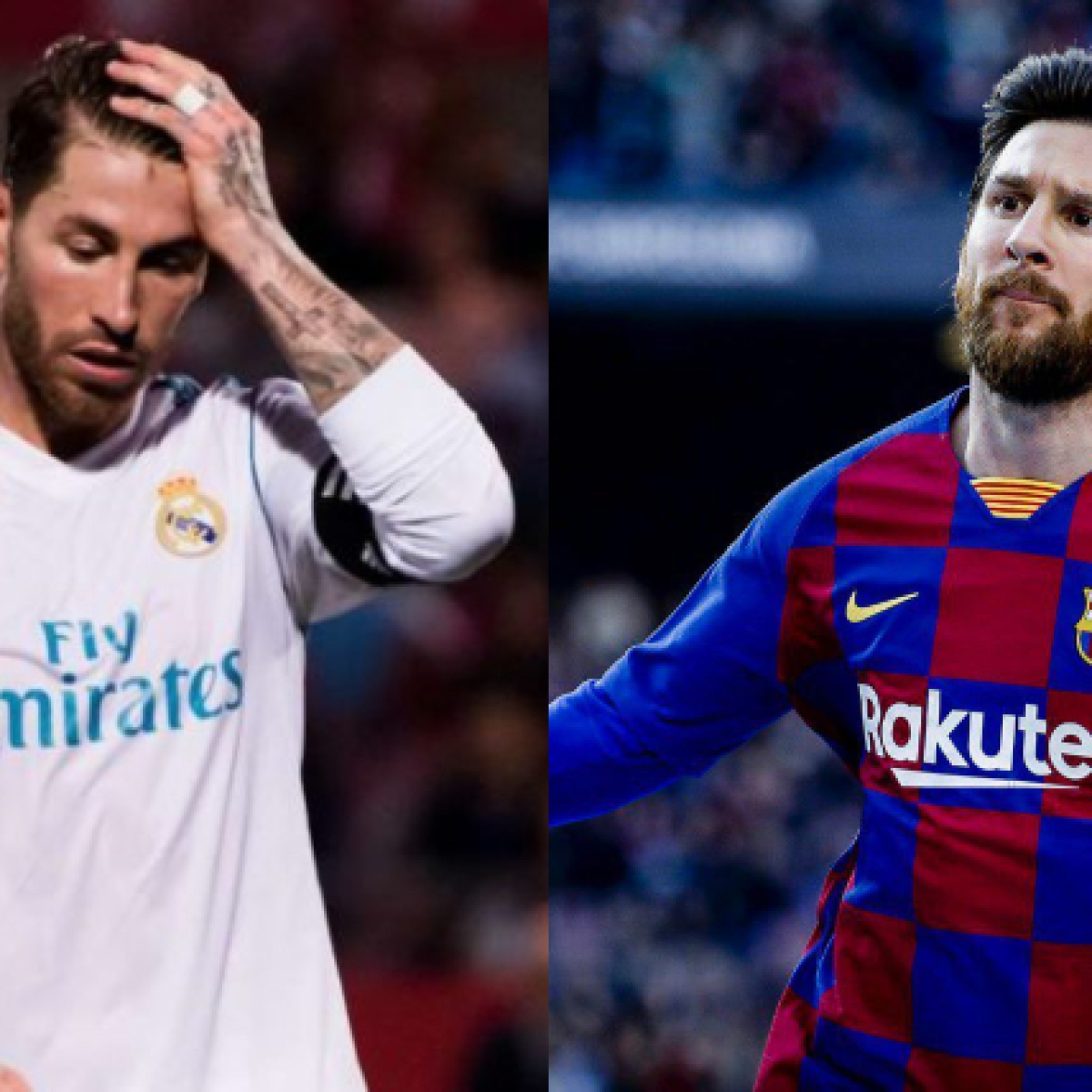 Real Madrid skipper Sergio Ramos wants Lionel Messi to stay at Barcelona