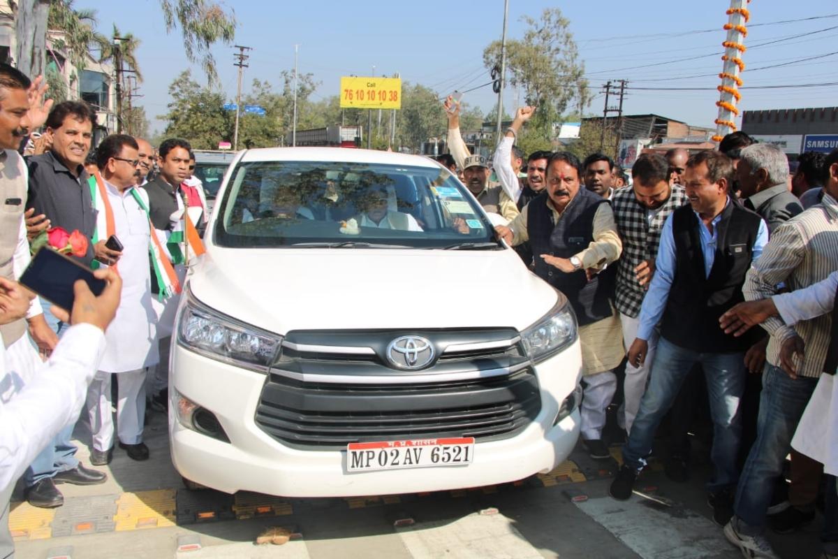 Madhya Pradesh: Congress, BJP exchange barb over ROB's rechristening