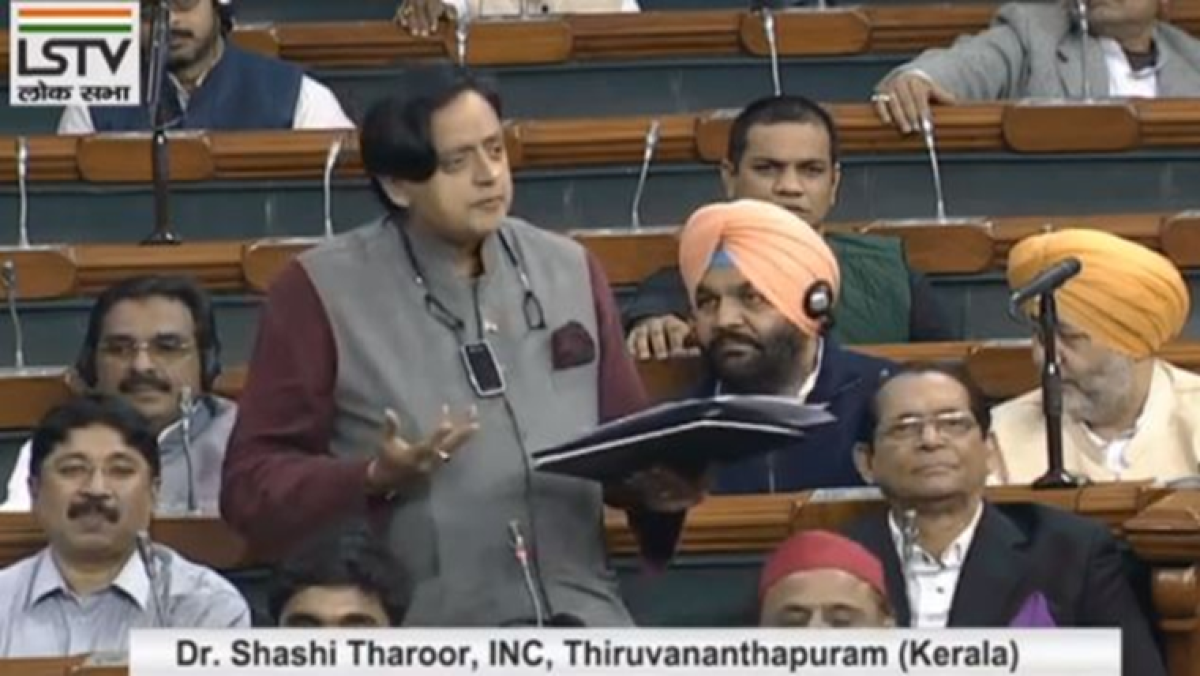 'No mention of stand-up India because Govt busy banning comedians': Shashi Tharoor's jibe in Lok Sabha