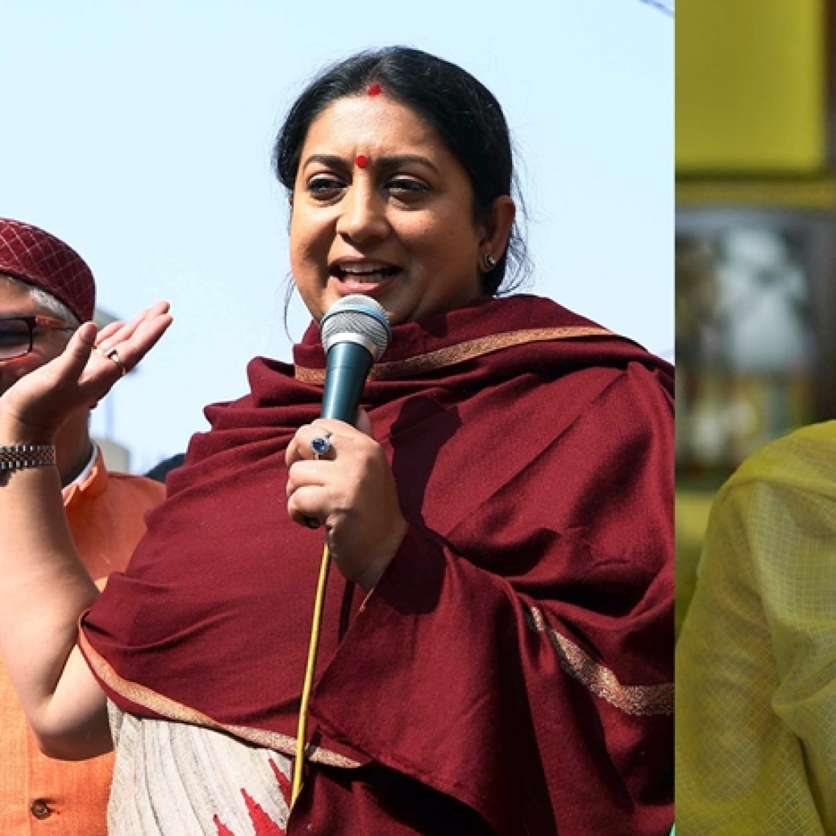 'Not ok to hit a woman': Smriti Irani lauds Taapsee Pannu's 'Thappad'