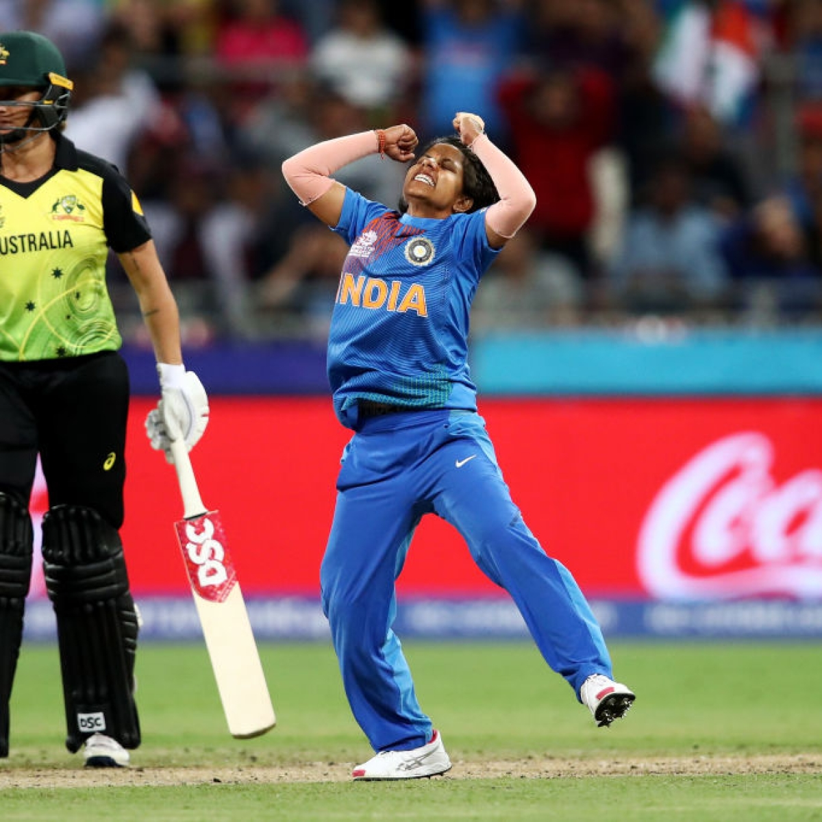 'It's a big upset': Twitter hails Women in Blue after incredible win against Australia