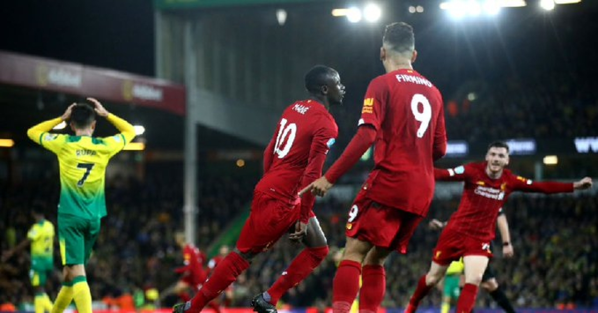 Liverpool striker Sadio Mane scored the lone goal against Norwich as Reds bag another three points. Mane's goal recorded his 100th Premier League goal.