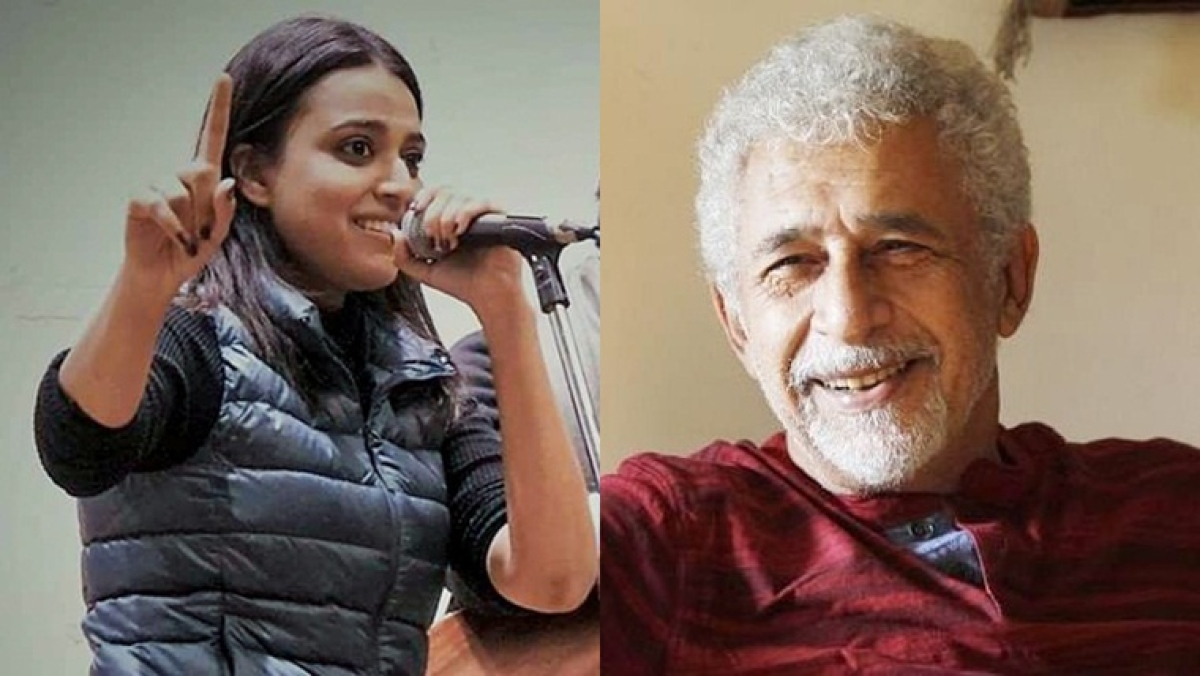 Naseeruddin Shah, Swara Bhasker and other artists unite in Mumbai to celebrate India over Valentine's weekend