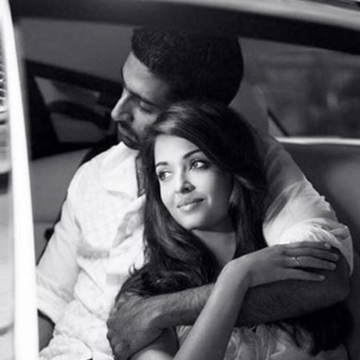 Throwback to Aishwarya Rai and Abhishek Bachchan's spontaneous dance video on 'Dhoom Dhoom'