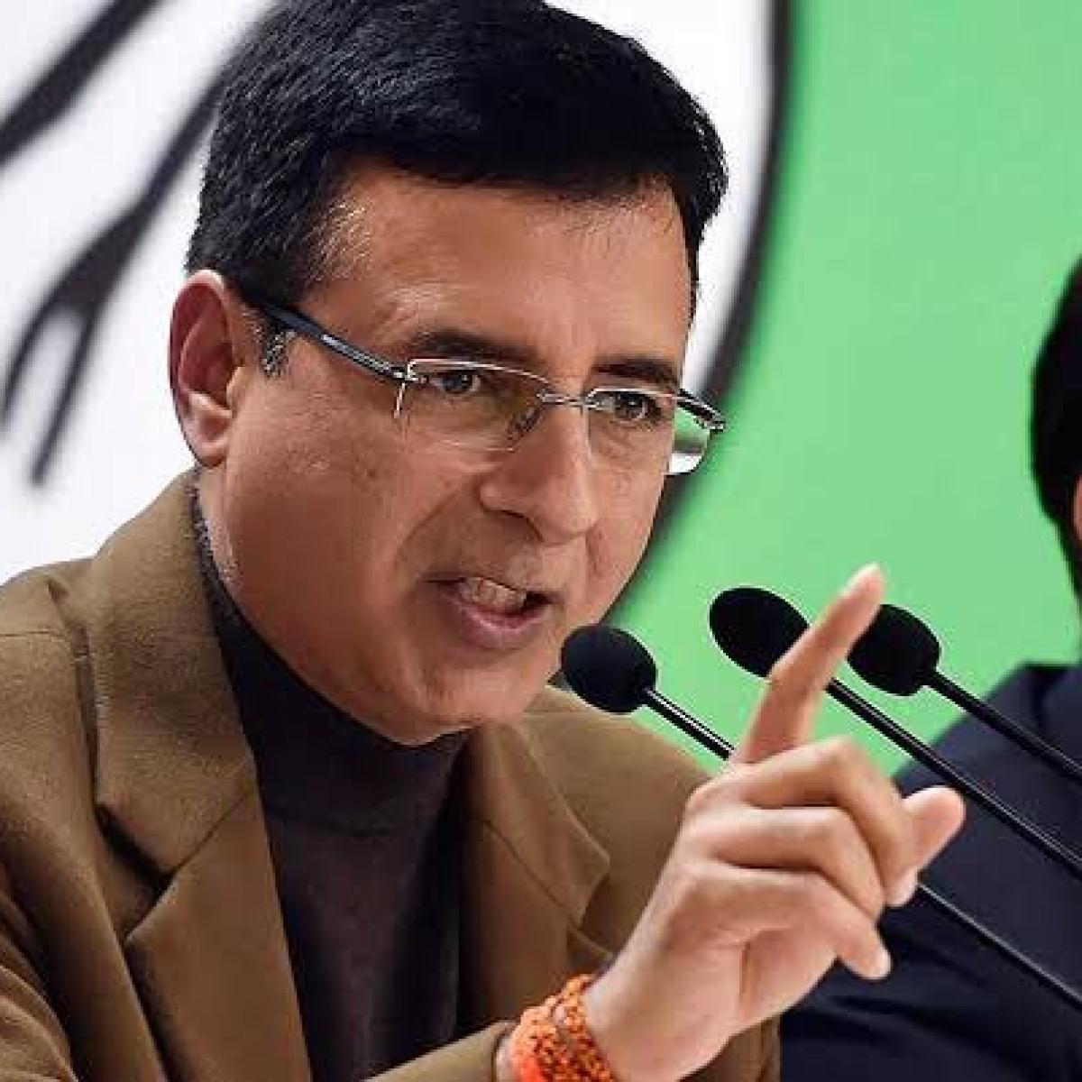 MPLAD suspension a huge disservice to constituents: Congress' Randeep Singh Surjewala criticises Modi govt