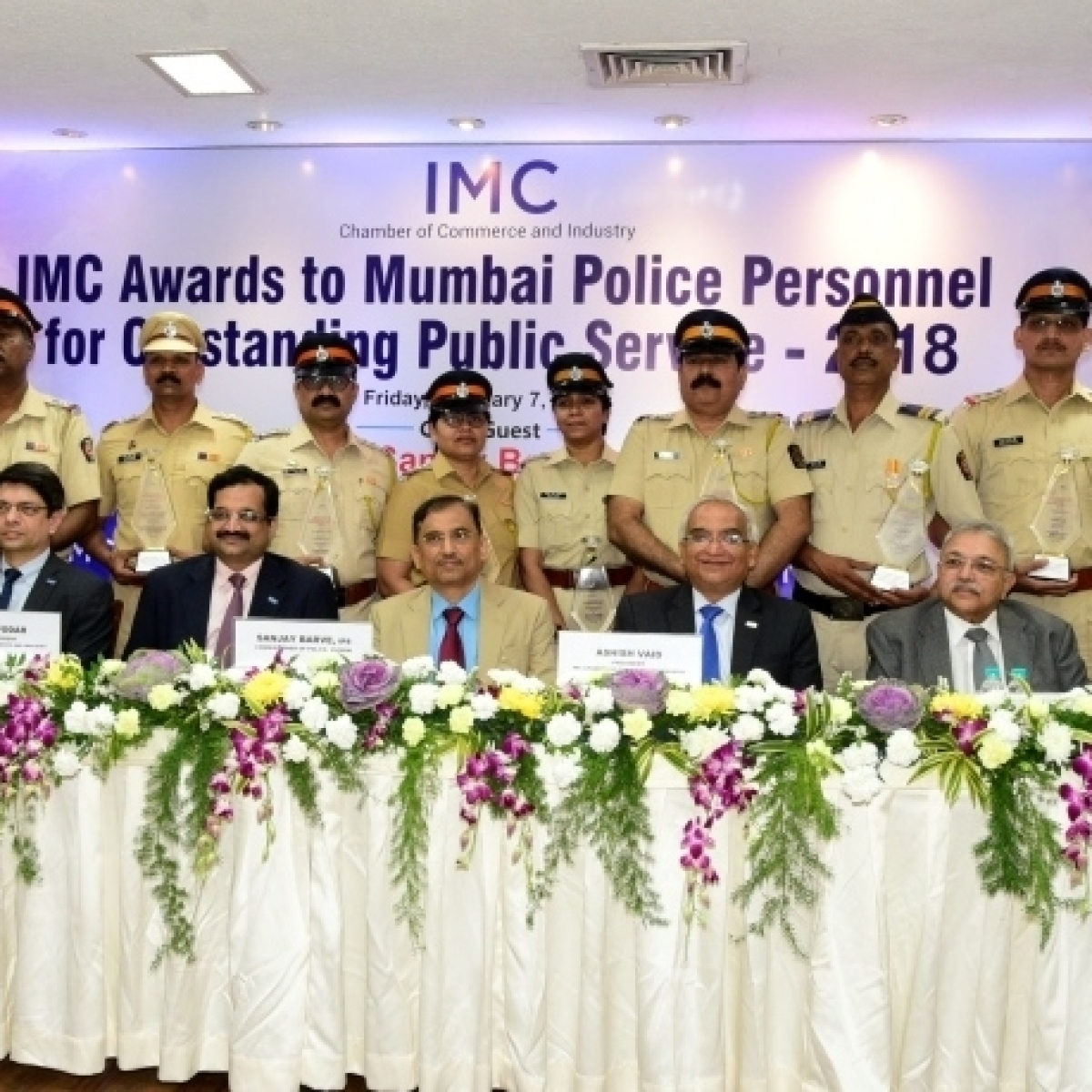 IMC Police Awards is a recognition of the good work done by Mumbai Police: Sanjay Barve