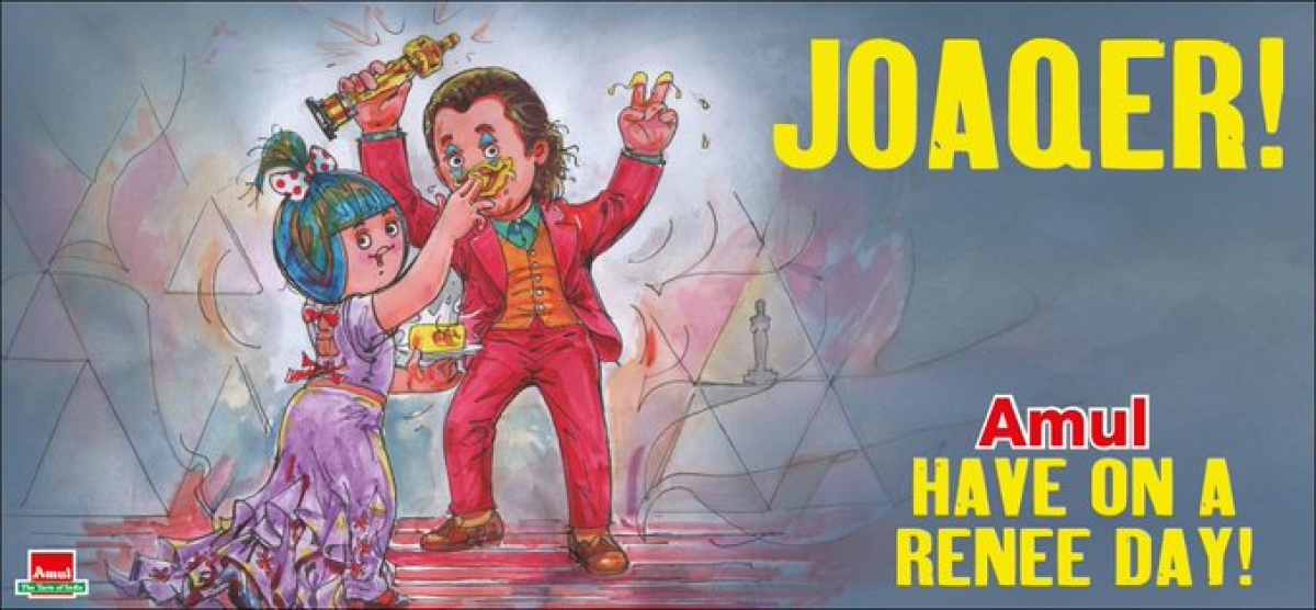 PETA slams Amul India for its 'tribute' to Joaquin Phoenix