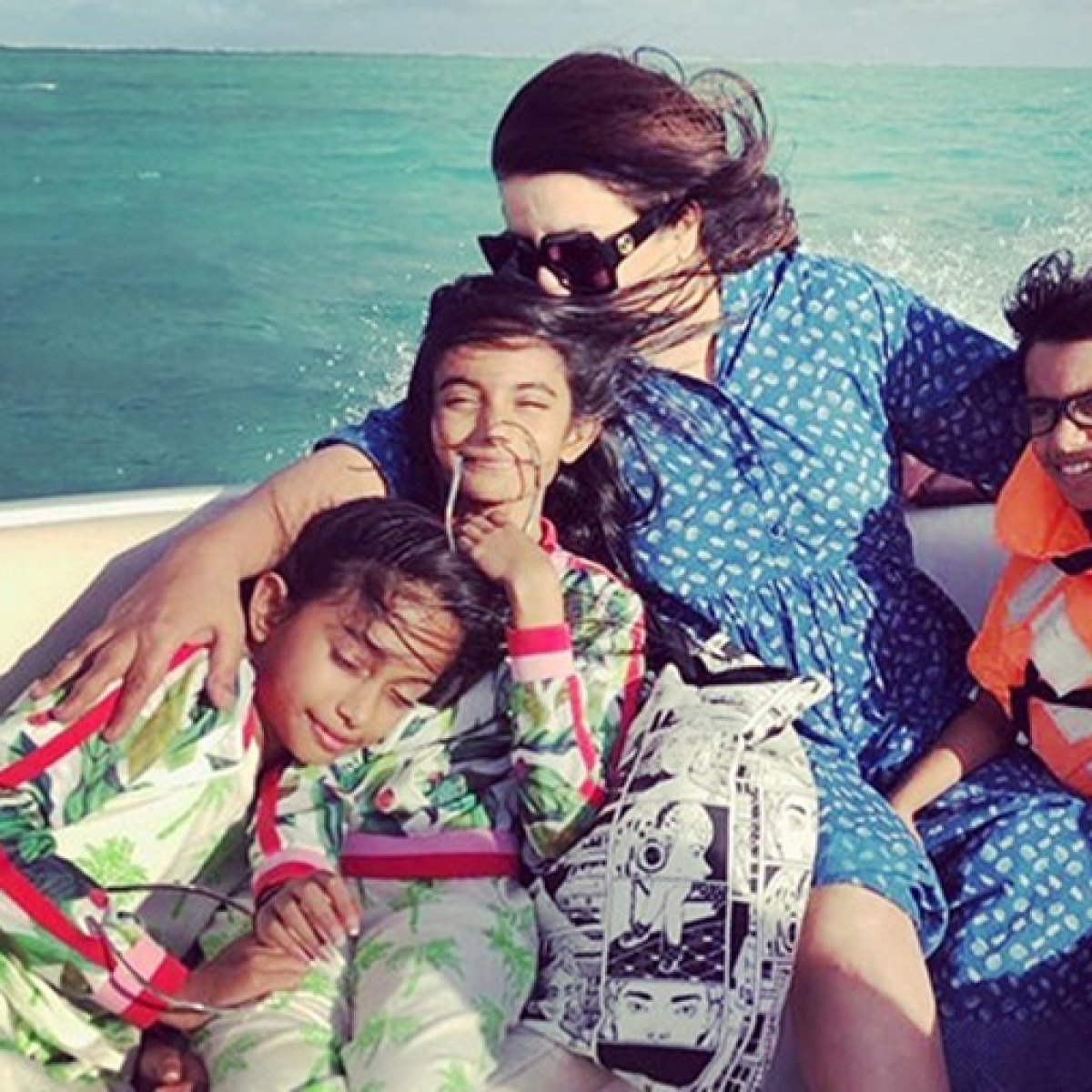 Farah Khan pens the sweetest birthday wish as triplets Czar, Diva and Anya turn 12