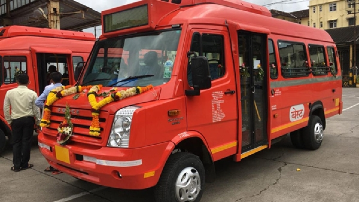 BEST provides buses to be used as medical response