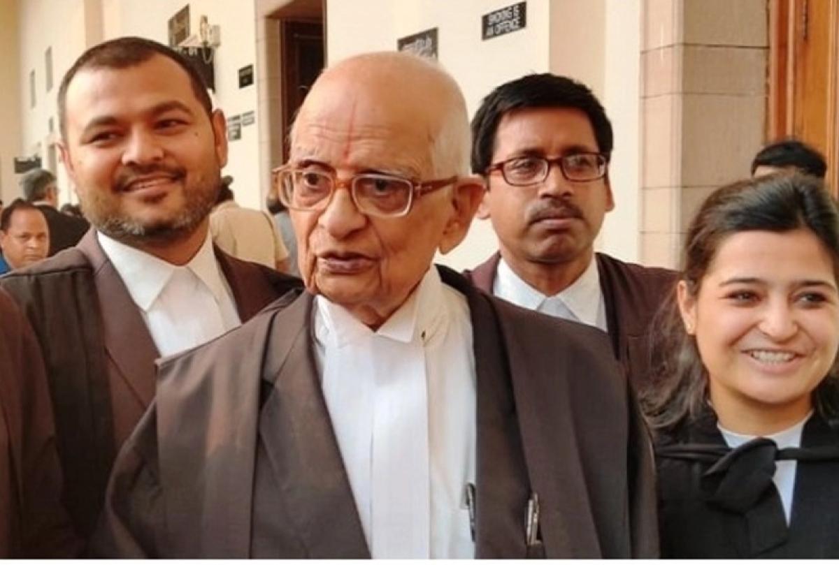 Senior Lawyer K Parasaran to chair first meeting of Ram Mandir Trust