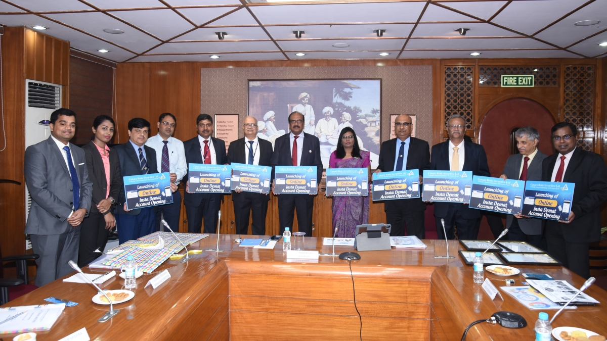 Canara Bank Securities launches online opening of Insta-Demat accounts