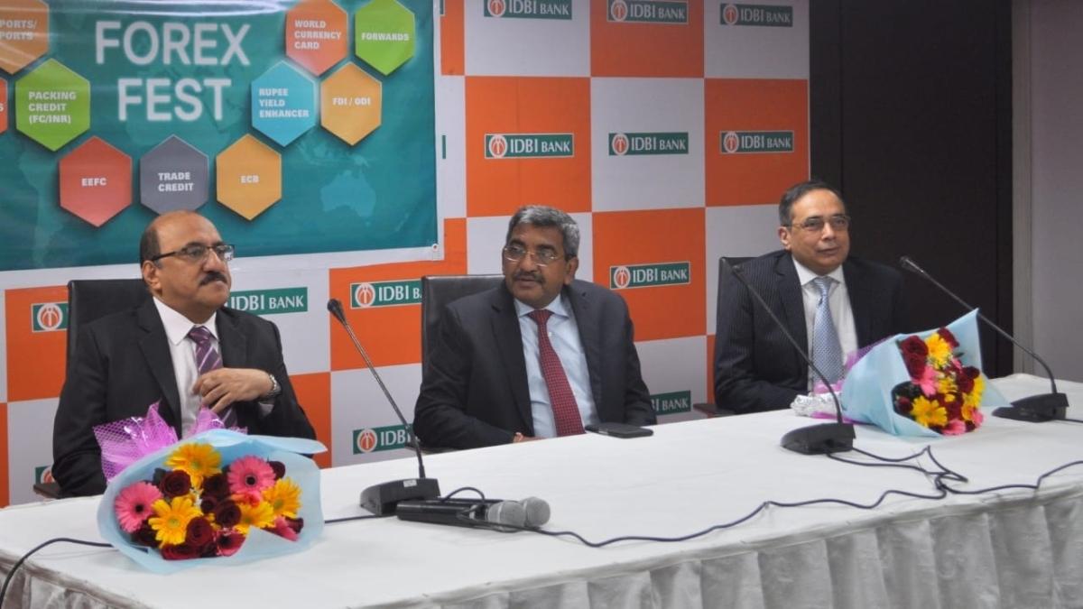 Rakesh Sharma, MD & CEO inaugurates IDBI Bank Forex Fest at IDBI Bank Corporate Centre Mumbai