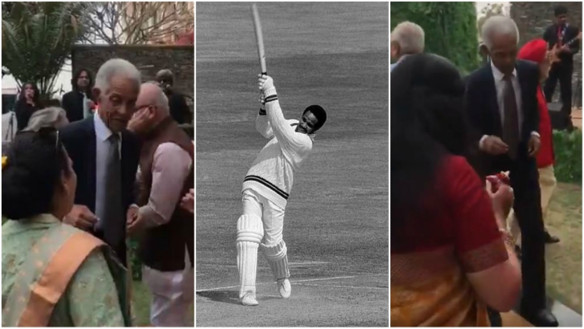 Sir Gary Sobers proves age is just a number as he shakes a leg to a Bollywood song