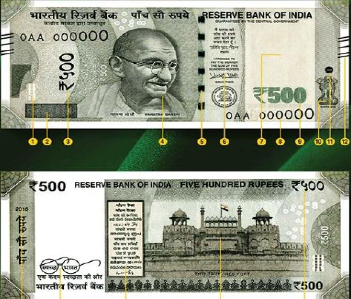 Is your Rs 500 note real or fake? Here's how to check