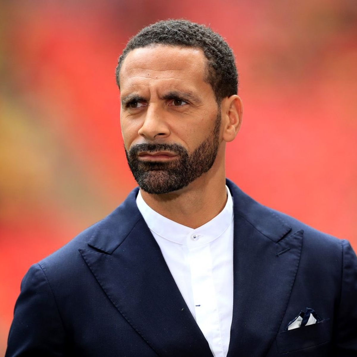 What a shame: Rio Ferdinand is thrilled with Man City's Champions League ban