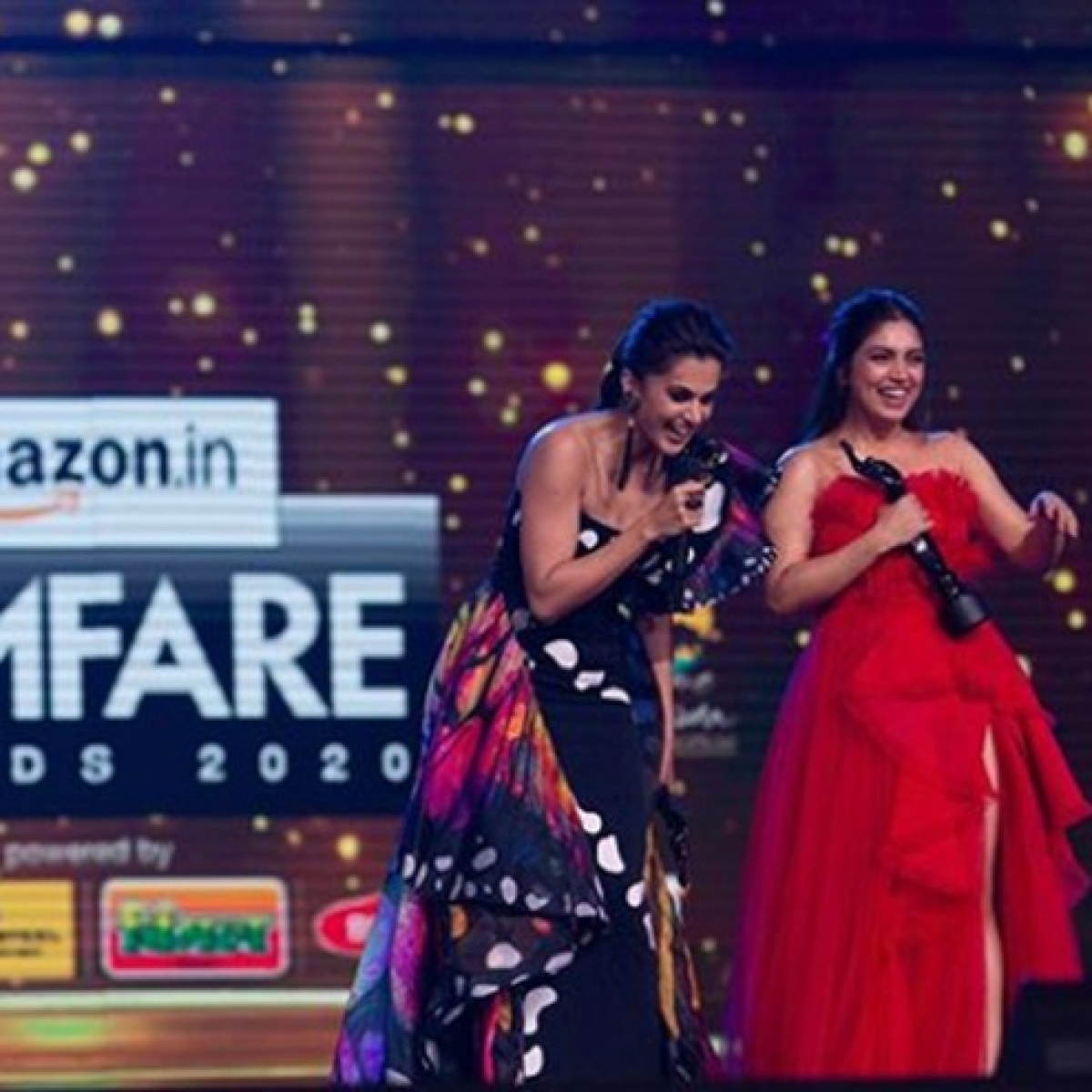 'Glad my name wasn't dragged into Filmfare Awards storm', says Taapsee Pannu