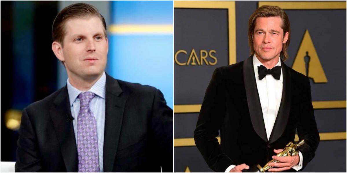 Donald Trump's son Eric blames 'smug elitists' like Brad Pitt for Oscars low ratings