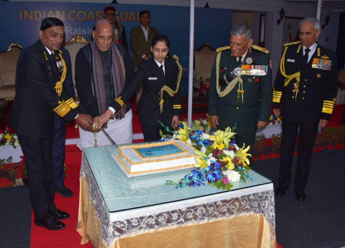 Coast Guard day celebrated with RM as Chief Guest