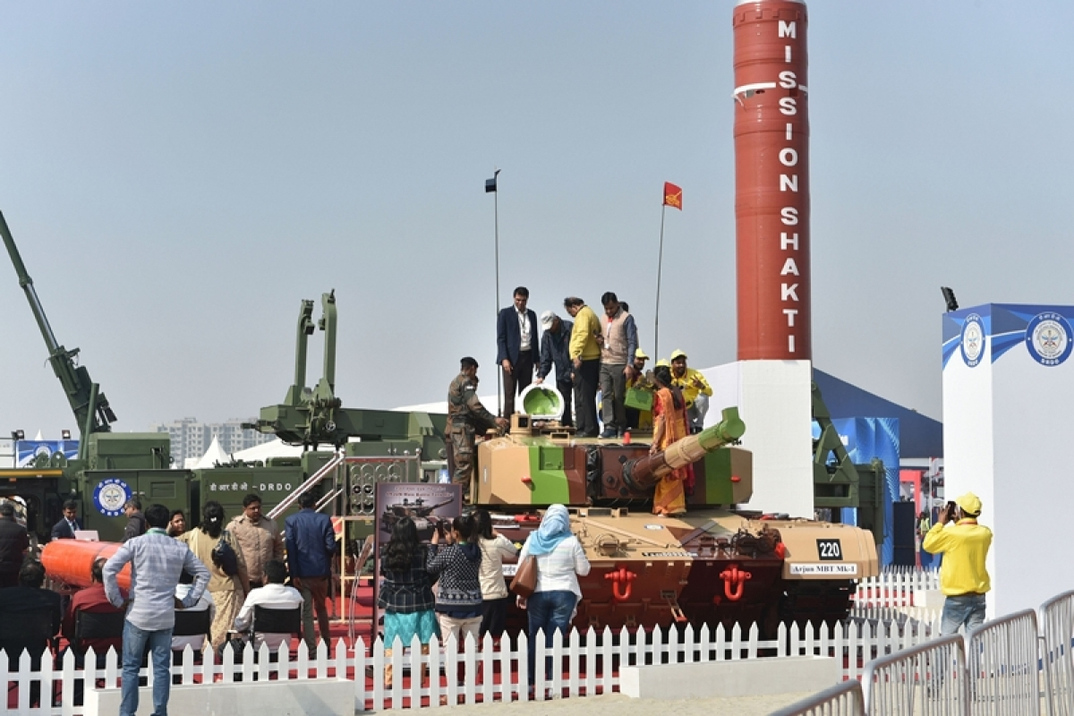 (PTI Photo) Defence Exppo, Representative image