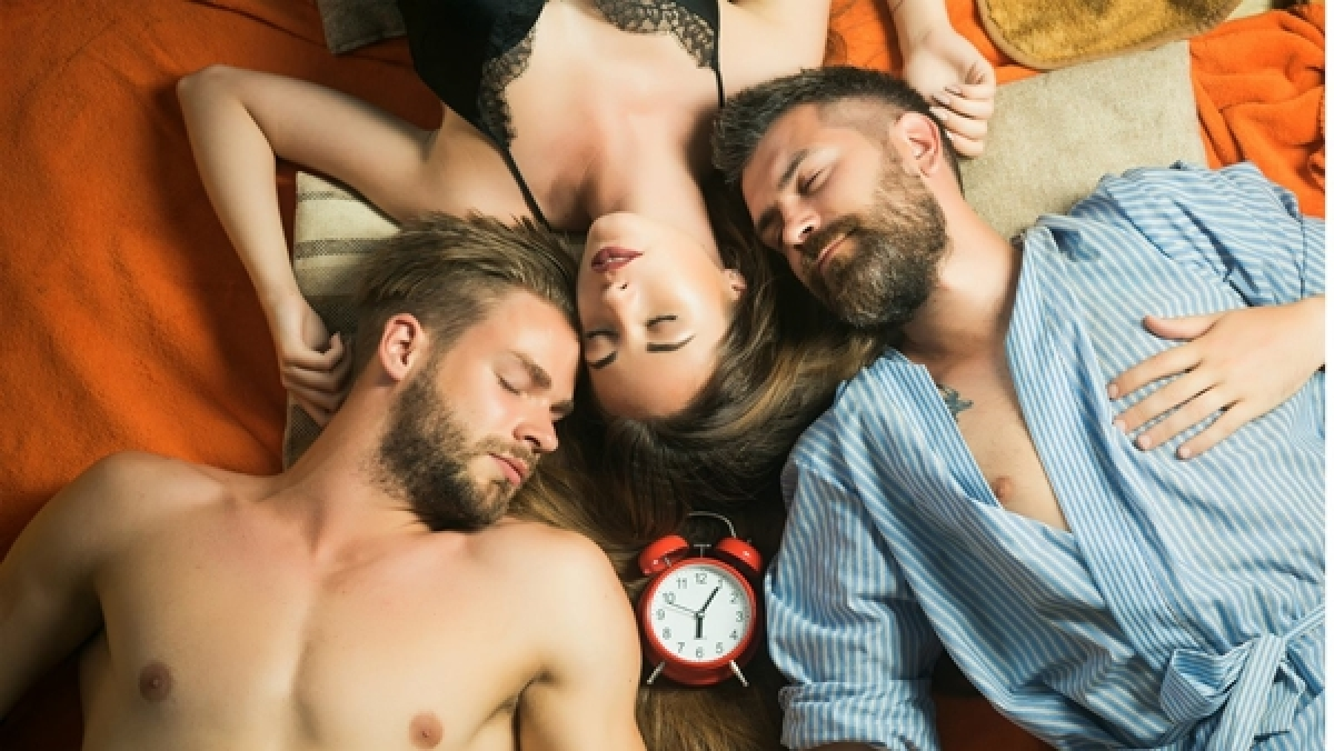 People in open relationships aren't necessarily sex addicts