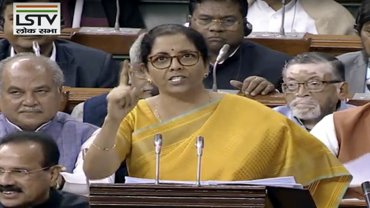 GST has resulted in efficiency gains in transport: FM Sitharaman