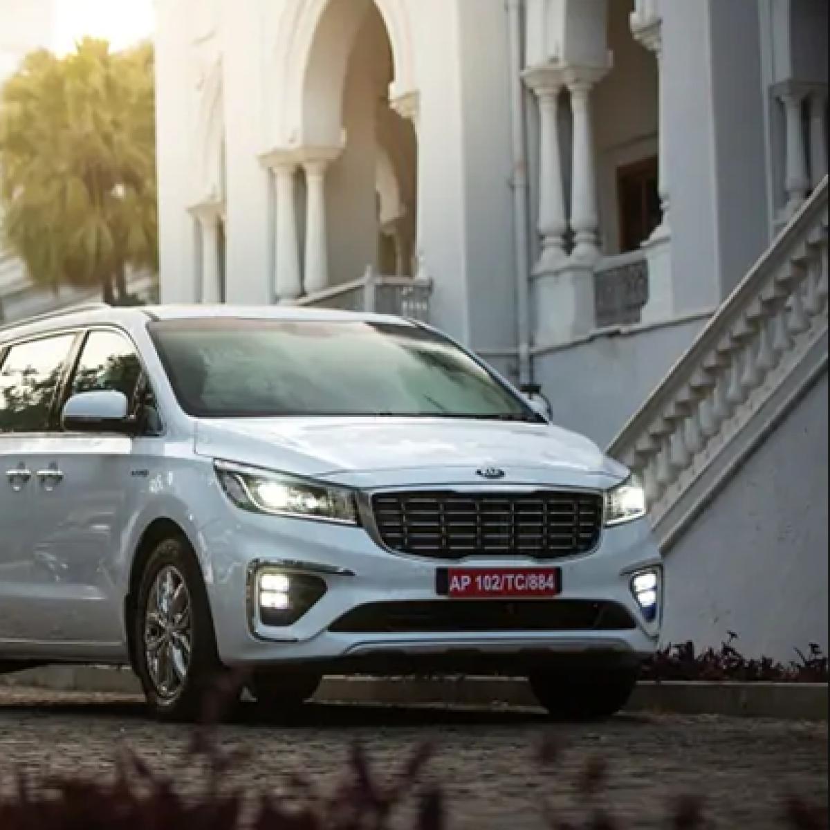 Auto Expo 2020: Kia Motors India launches Carnival MPV - here are the details