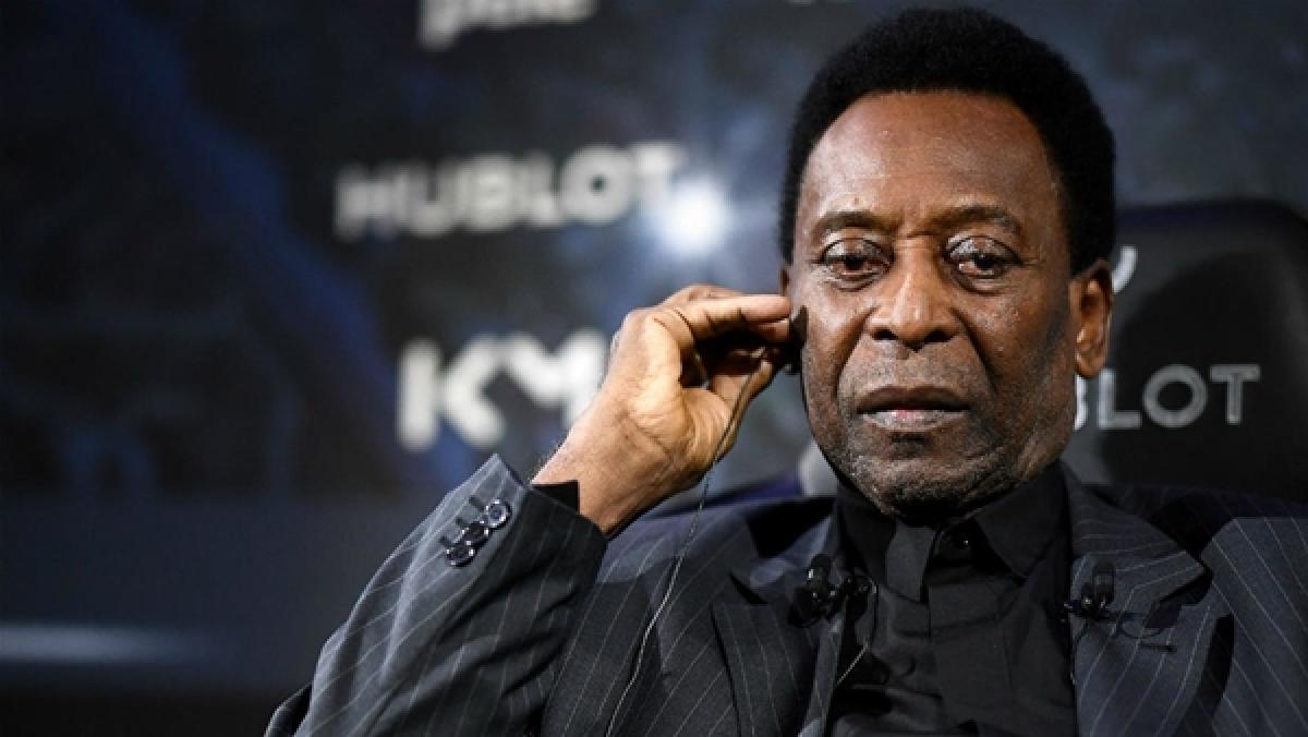 Brazilian football legend Pele says he's 'fine,' after son spoke of depression