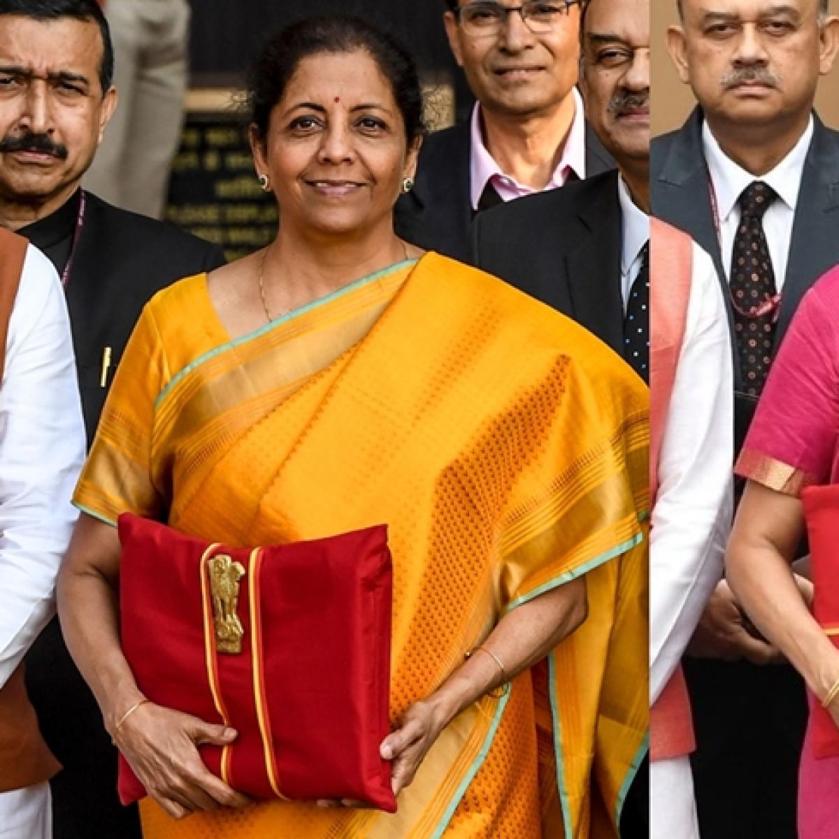Budget 2020: FM Nirmala Sitharaman back with traditional 'bahi khata' but with a design change