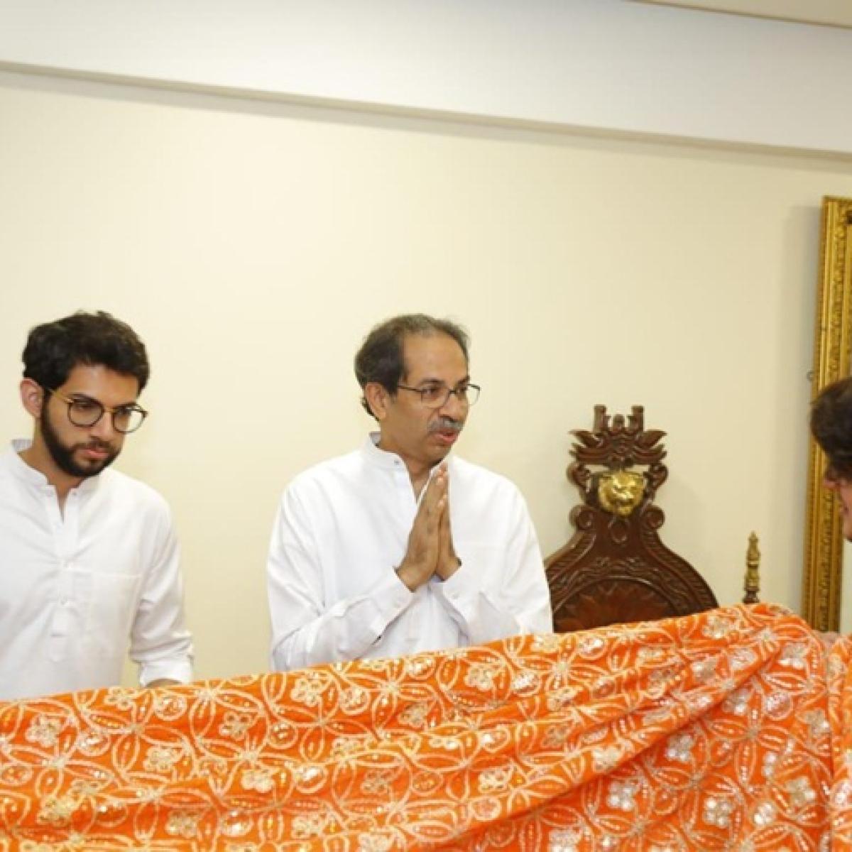 Maharashtra CM Uddhav Thackeray, son Aaditya send a saffron chadar to be offered at Ajmer dargah