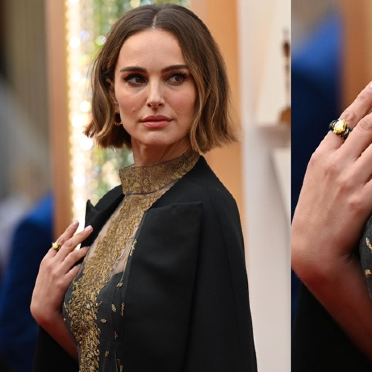 Oscars 2020: Natalie Portman's Dior cape has names of snubbed female directors