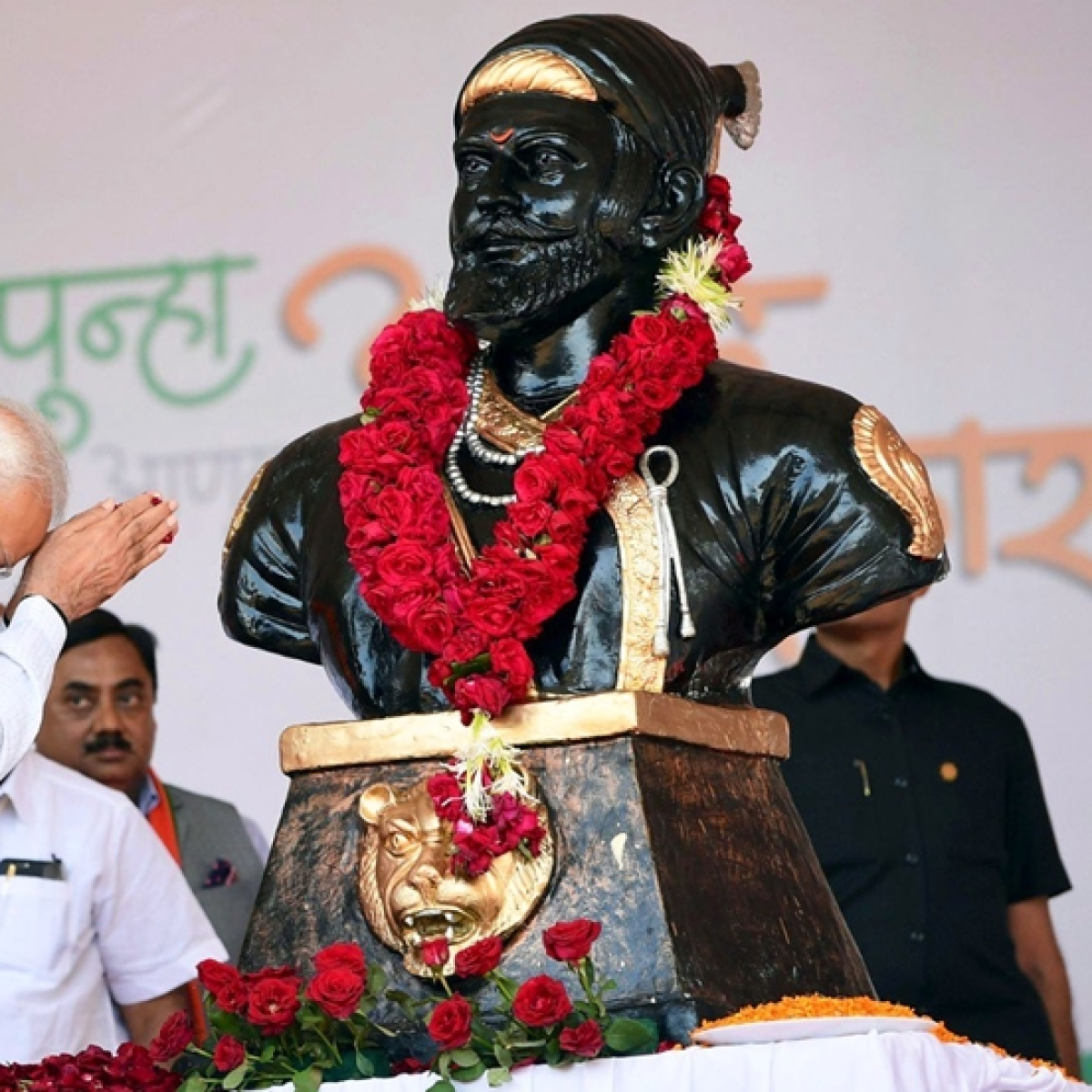 PM Modi pays tributes to Chhatrapati Shivaji Maharaj on his 390th birth anniversary