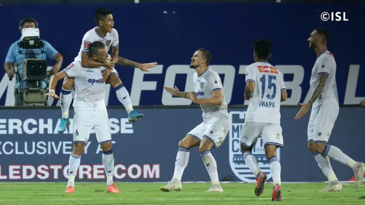 ISL: Chennaiyin FC shut doors on Mumbai FC's qualifying hope