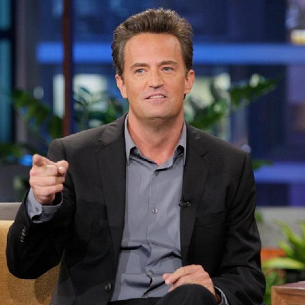 Quarantine Diaries: 'Friends' star Matthew Perry tries nude eating