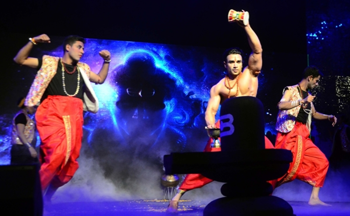 Bhopal: Police Officers hit the stage with dance, skit