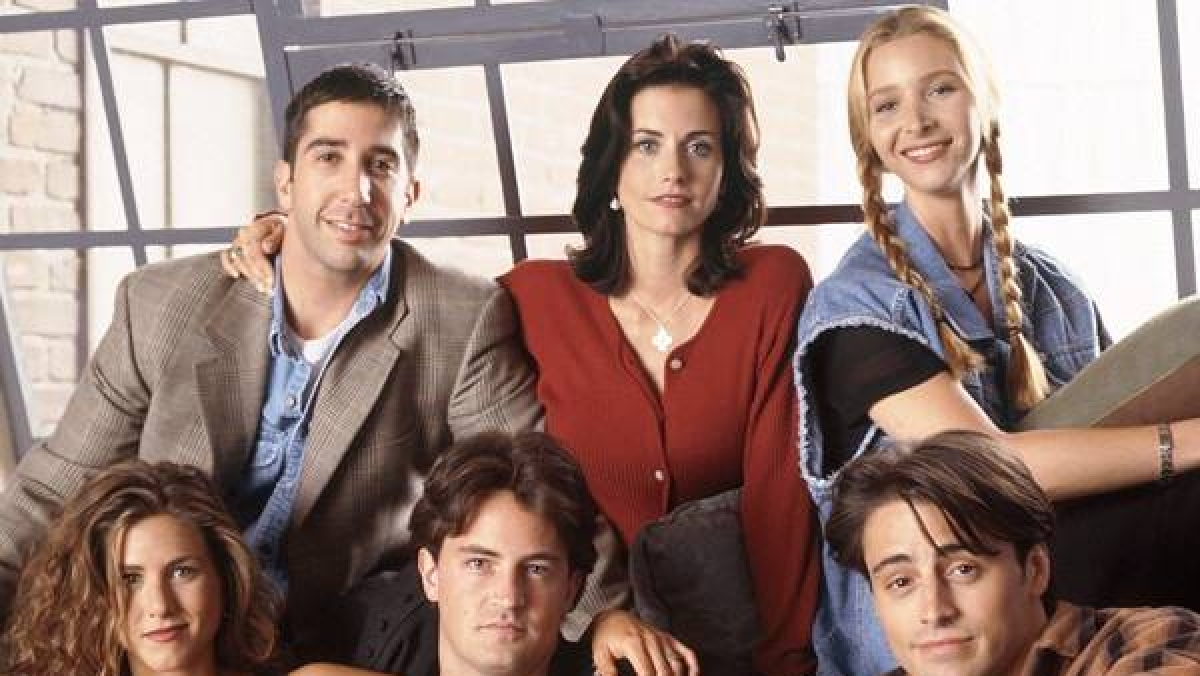Friends main characters.