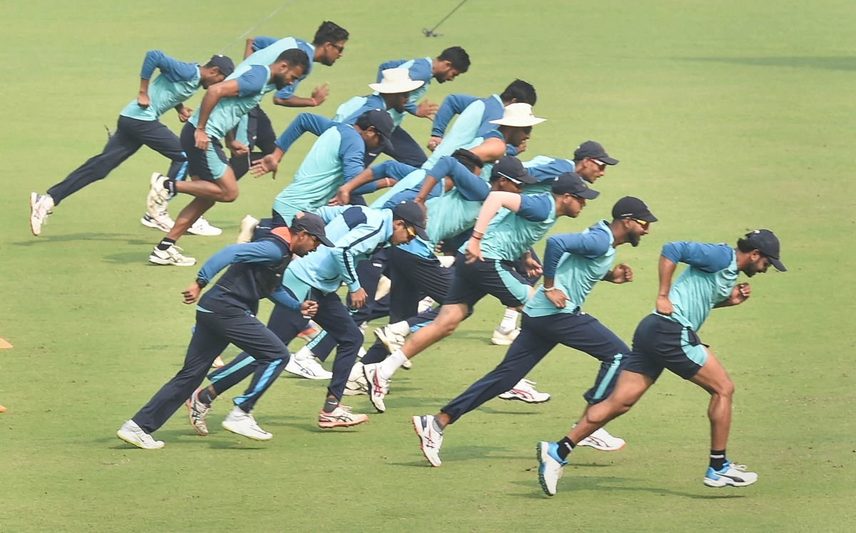 Watch: Team India trains with new drill technique beyond your imagination