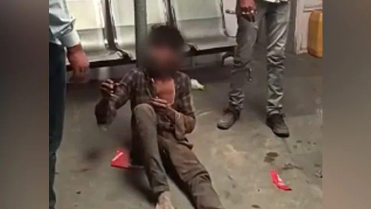 Assault of one of the Dalit was caught on camera.