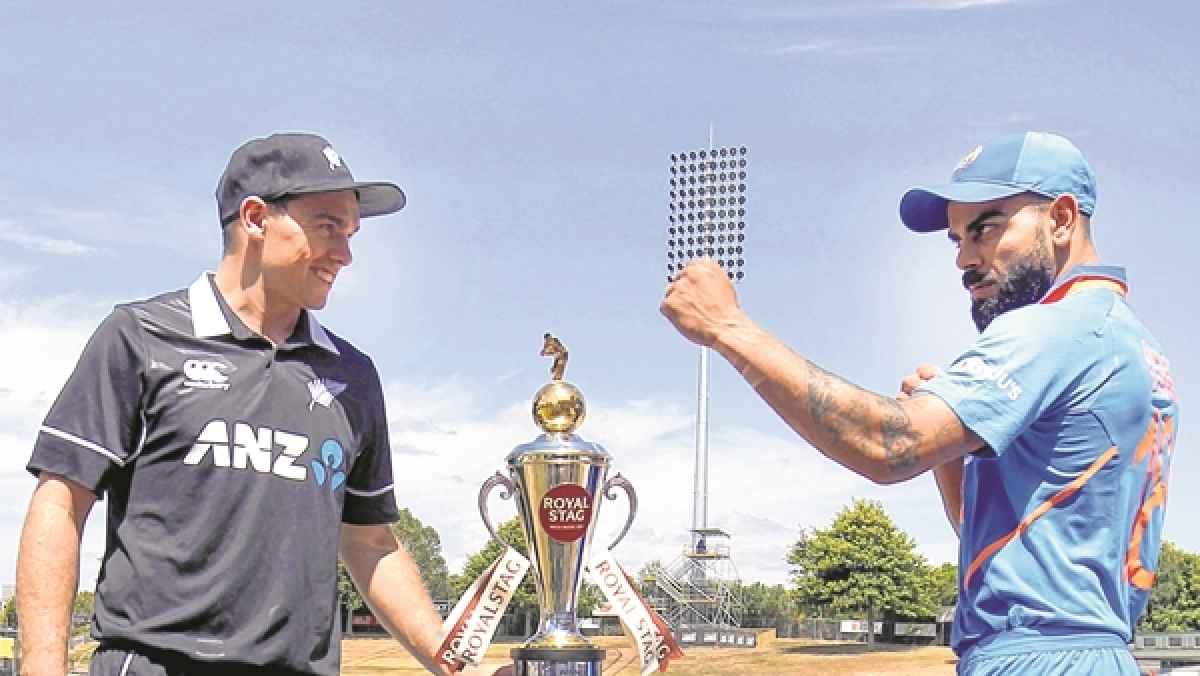 New Zeland vs India: Skipper all for friendly fists, butterless fingers