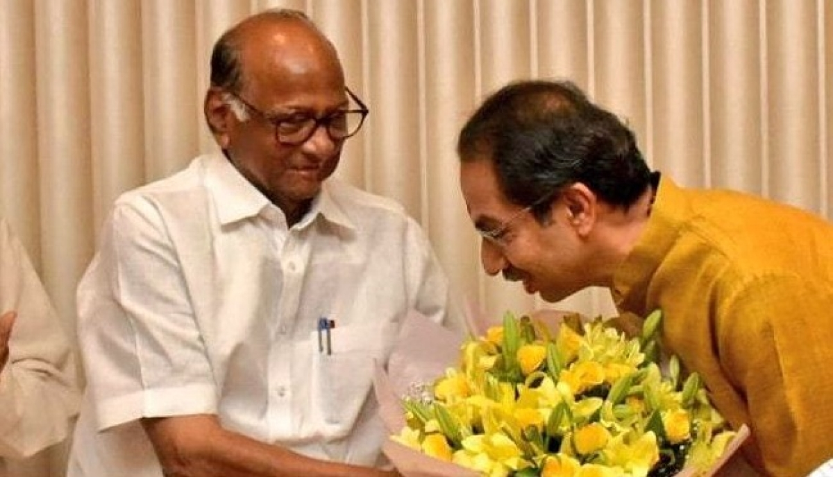 Sharad Pawar meets Uddhav Thackeray, discusses Pune Police's conduct in Elgar Parishad case