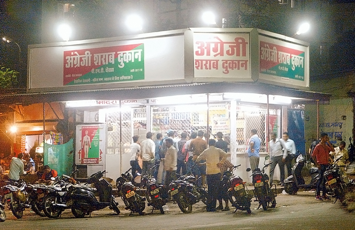 Indore liquor contractors don't want to open shops in fear of huge loss