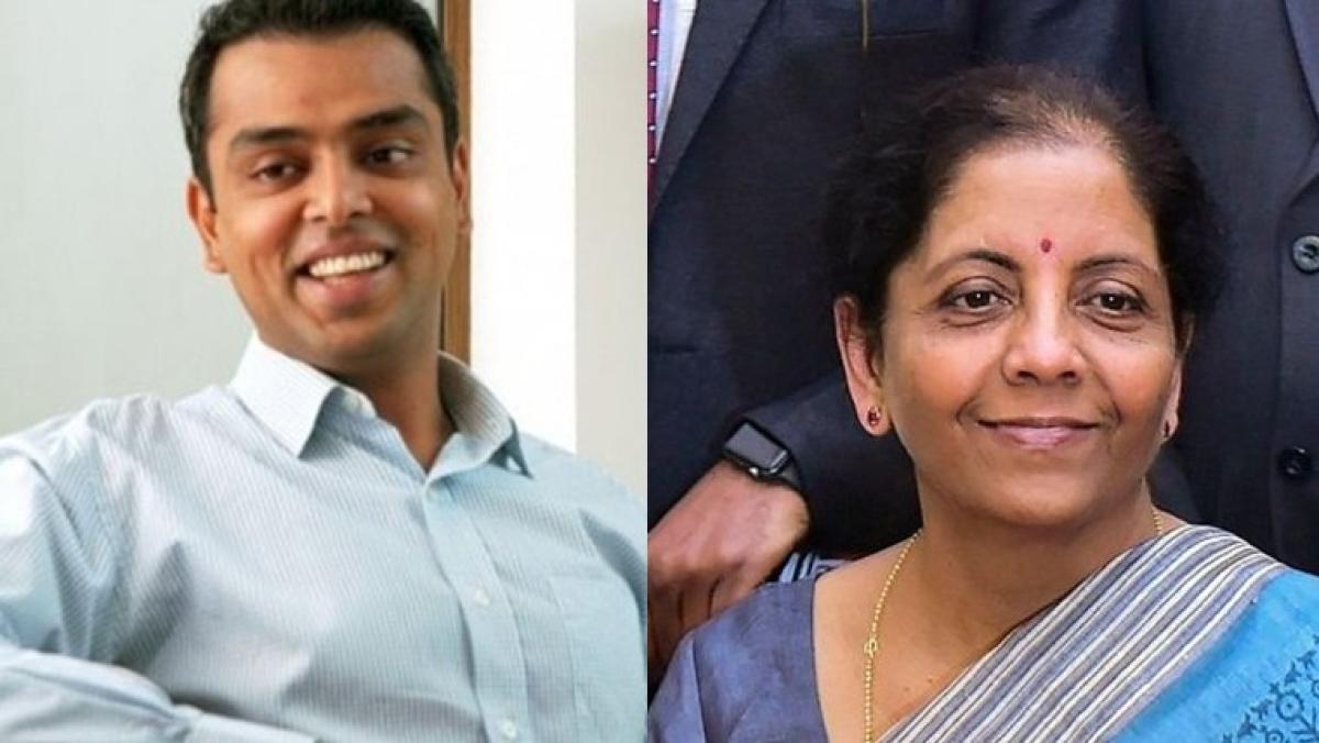 Budget 2020: Milind Deora mocks FM Nirmala Sitharaman's speech with emoji