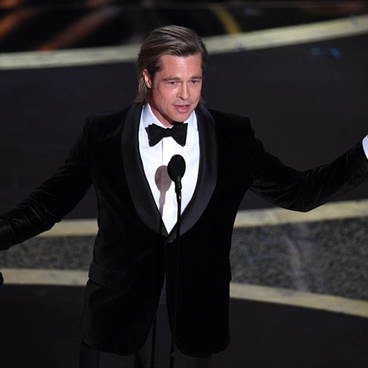 Oscars 2020: Brad Pitt needs just 45 seconds to mock Donald Trump