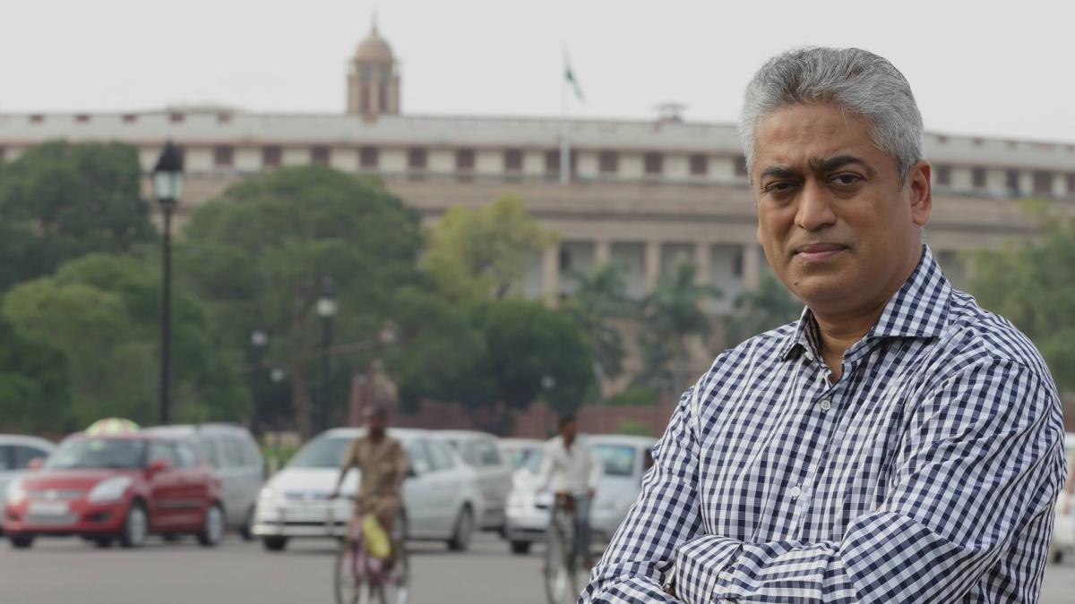 Fact check: No, Rajdeep Sardesai wasn't dancing to celebrate AAP victory